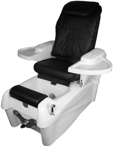 1476 SPA Fußpflegestuhl mit Massage / Sitz schwarz