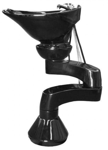1219 V1 schwenkbare 2-Arm RüWa Säule SOsw-BEsw (6,3 cm, FS-Set 2, Becken 1862)
