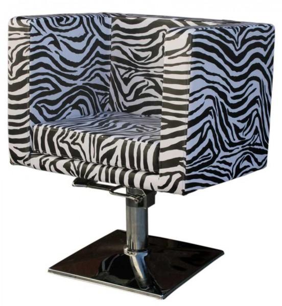 1217 Friseurstuhl MASSA-2 zebra