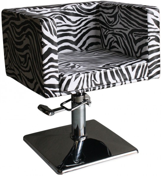 1374 Friseurstuhl MASSA-1 zebra