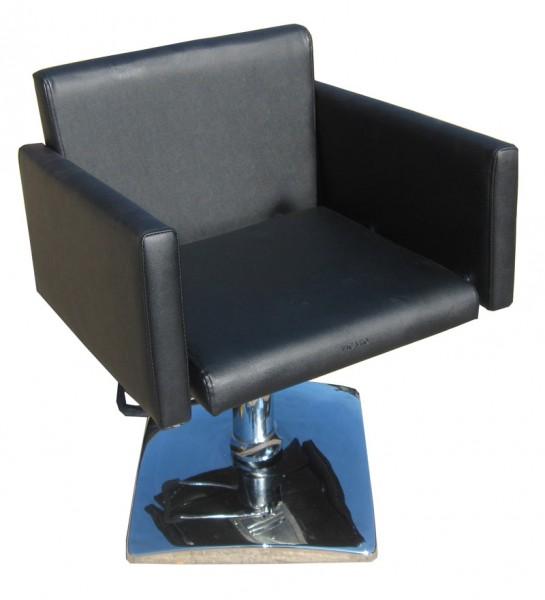 1162 Frisierstuhl MILANO schwarz