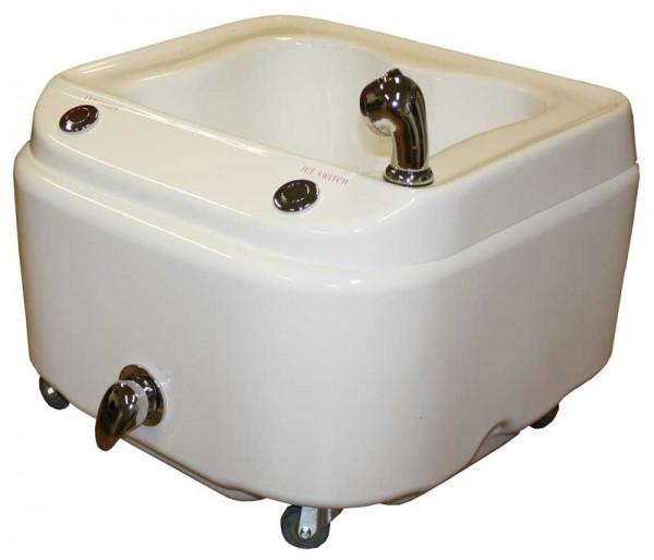 1338 rollbares SPA-Fußbecken mit warm/kalt Aquamassage und LED