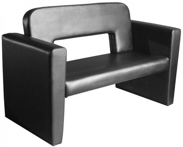 1049 Sofa schwarz